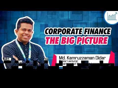 Corporate Finance  I  The Big Picture  I  Md Kamruzzaman Didar