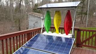 Bitcoin Mining with Antminer S7 and using Green Energy from a Solar Mill