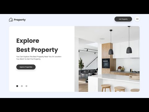 How To Make A Website With Animated Image Gallery Using HTML, CSS & JS