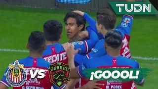 ¡Goool de J.J. Macías! ¡Regreso triunfal!  | Chivas 2 - 0 FC Juárez | Liga Mx - CL 2020 J1 | TUDN