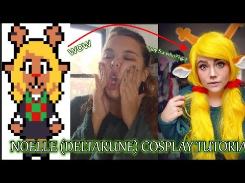Noelle (Deltarune) Cosplay Tutorial (??? kinda.... :3c )