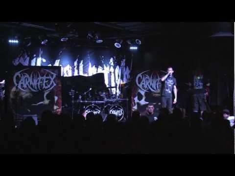 Carnifex ~ complete set ~ 4-28-12 on ROCK HARD LIVE