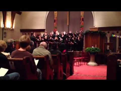 Seal Lullaby - Eric Whitacre (UMass Amherst Recital Choir)