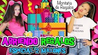 ¡¡ABRIENDO LOS INCREÍBLES REGALOS por 2 MILLONES!!  ¡¡ESPECIAL DOS MILLONES DE SUSCRIPTORES!!