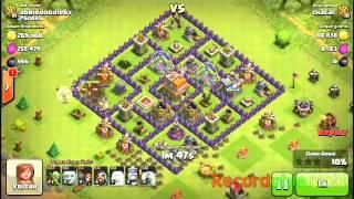 Clash of clans=-Estrategia de ataque cv7