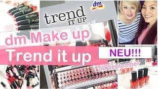 NEUE dm Drogerie MAKEUP MARKE TREND IT UP First Impressions - Blogger Event | Mamiseelen