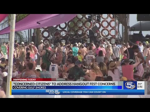 Citizens may air Hangout Festival complaints at Gulf Shores