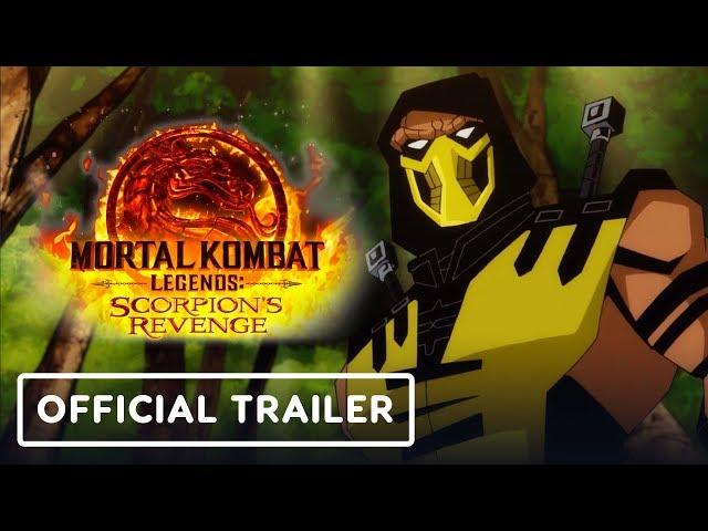 Mortal Kombat Legends Scorpion S Revenge Trailer Is Animated Mk9