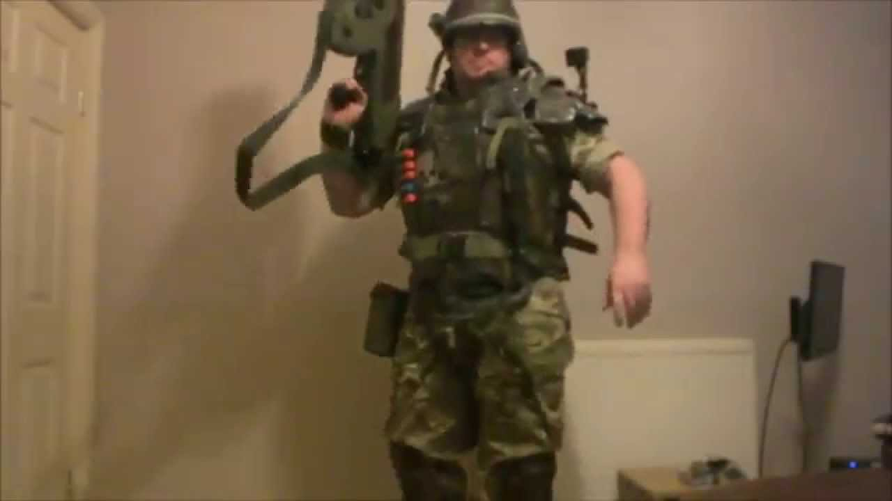ALIENS COLONIAL MARINE SUIT UP VIDEO & ALIENS COLONIAL MARINE SUIT UP VIDEO - YouTube