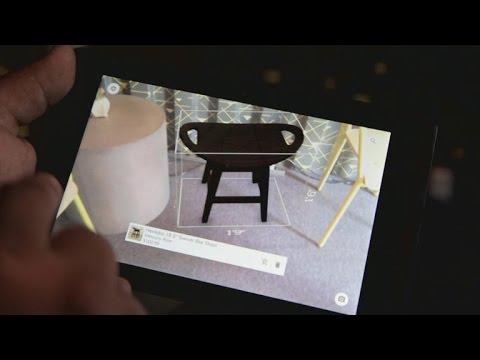 Google's 3D-sensing Project Tango phones could help you buy furniture