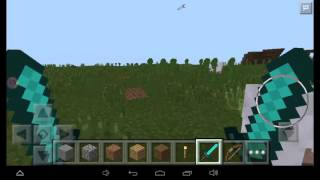 Как сделать 2 руки в Minecraft PE