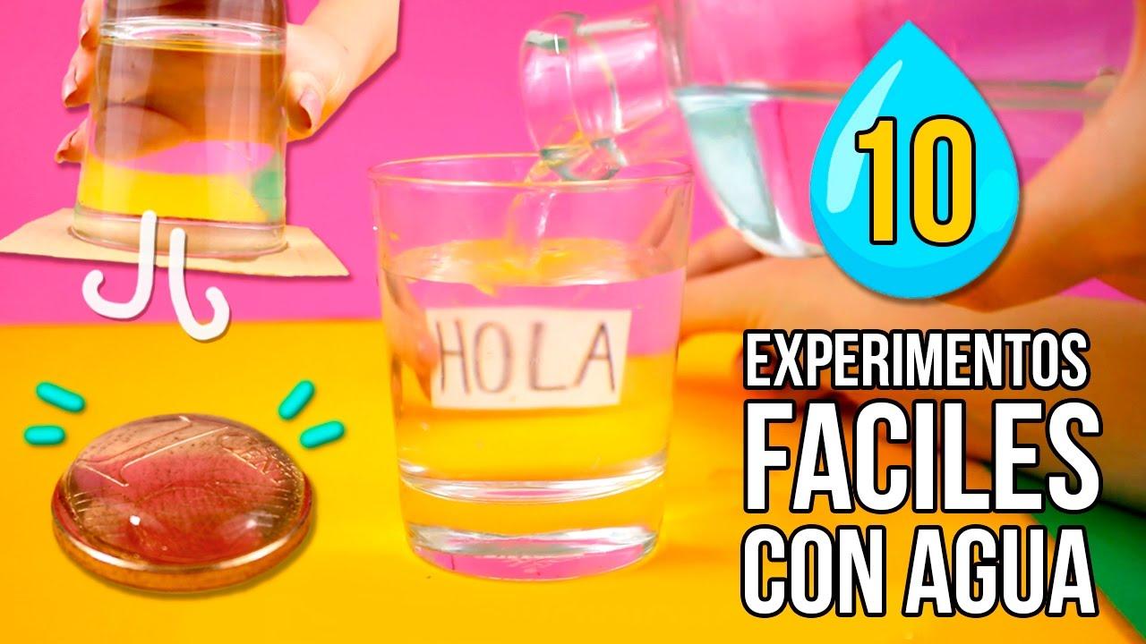 10 experimentos faciles con agua que puedes hacer en casa experimentos caseros para ni os - Trabajos caseros para hacer en casa ...