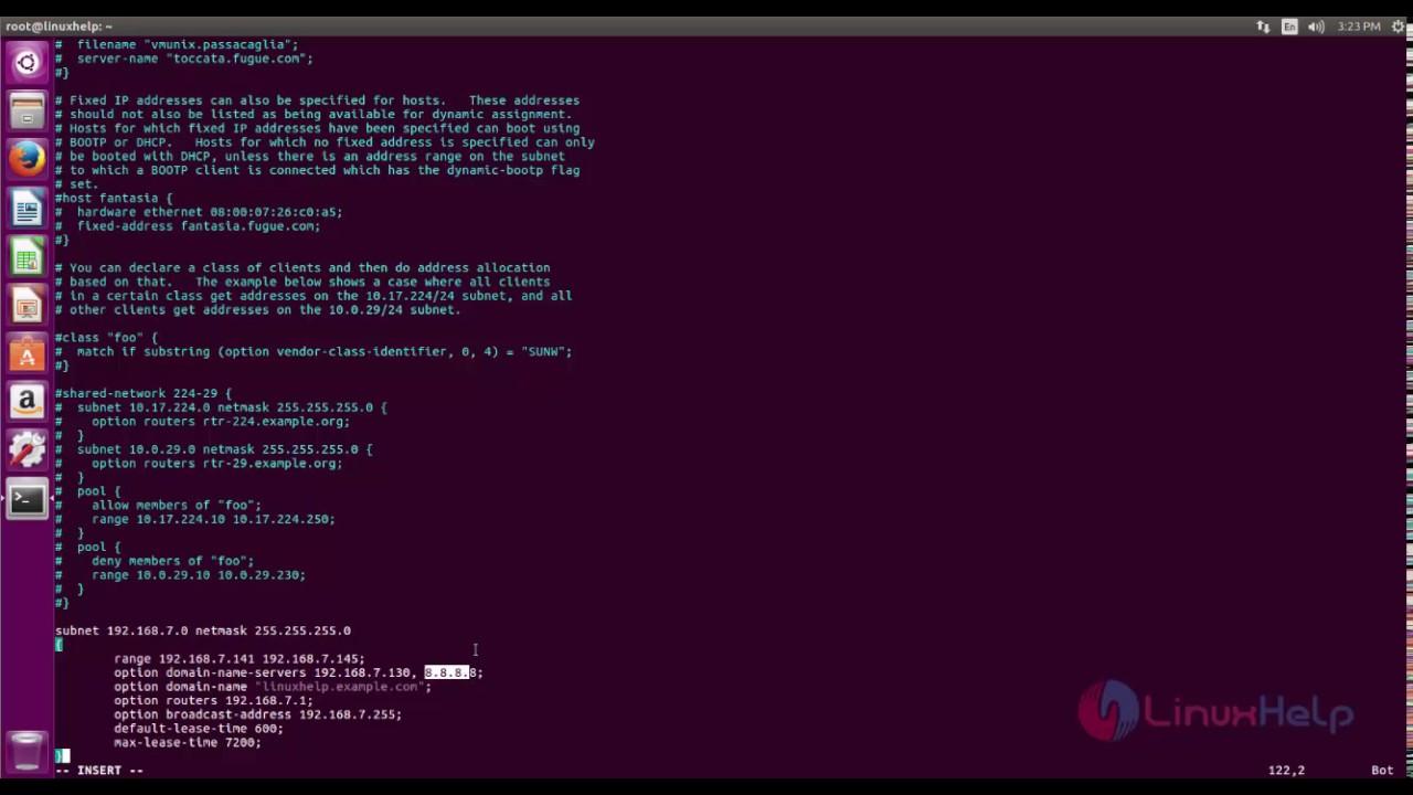 How to Configure DHCP Server on Ubuntu