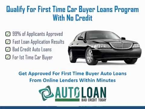 first time car buyer loans program for people with no credit youtube. Black Bedroom Furniture Sets. Home Design Ideas