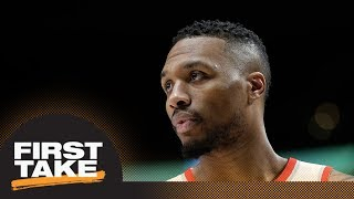 First Take debates if Damian Lillard deserved All-Star over Paul George | First Take | ESPN