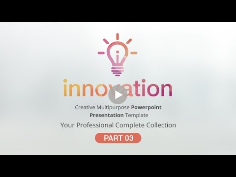 innovation Multipurpose PowerPoint Presentation Template - part 03
