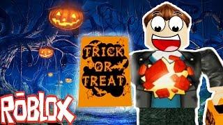 Trick or Treat in Hallowsville! (Roblox Adventures)