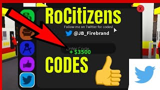 New 8 Roblox RoCitizens Codes *New Secret Twitter Trophy!*