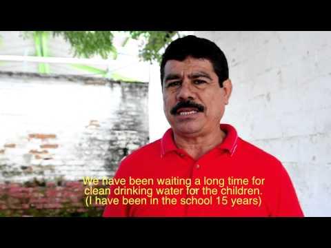 Interview at Lazaro Cardenas School, Mexico