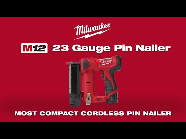 Milwaukee®  M12™ 23 Gauge Pin Nailer