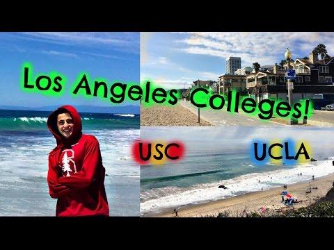 College Tours! USC + UCLA || DivosVideos