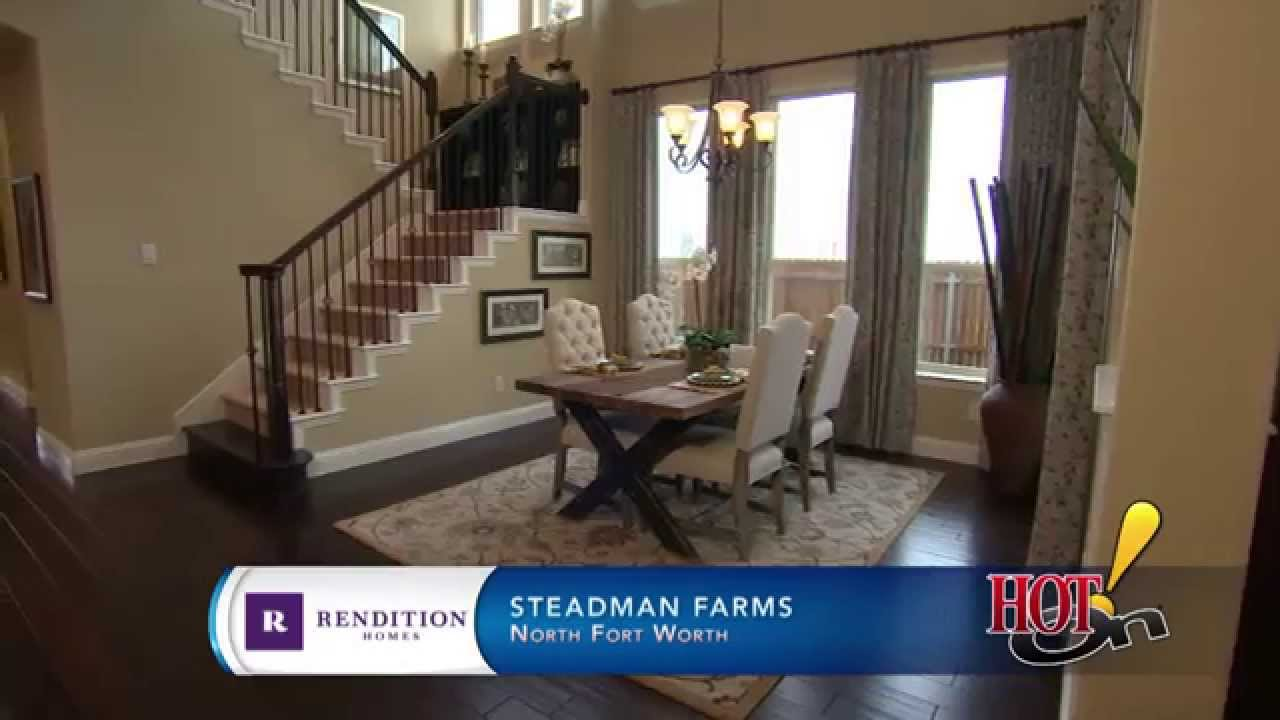 Steadman Farms in Fort Worth TX Rendition Homes YouTube – Rendition Homes Floor Plans