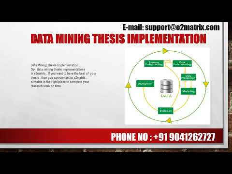 Get Latest Data Mining Thesis Topics -9041262727