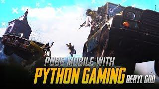PUBG MOBILE LIVE : CREATE DONT HATE !!!! II BERYL CONTROL 2.0 II [Bi] PYTHON