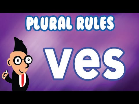 Spelling Rules: Drop The 'f' And Add 'ves' To Make Plurals
