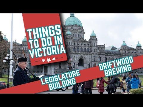 Victoria BC | Legislature Building, Downtown Victoria & Driftwood Brewery Tour