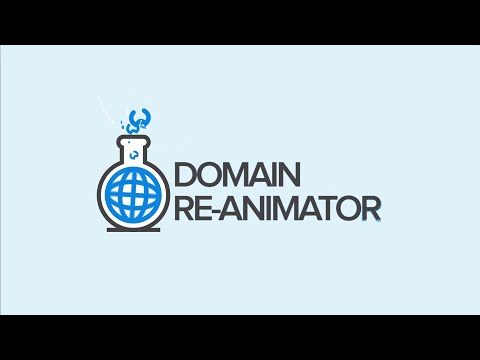 Domain Re-Animator, The Worlds #1 Expired Domain Crawler & Website Re-Animator!