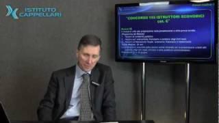 Presentazione corsi di preparazione per CONCORSO 155 ISTRUTTORI ECONOMICI Comune di Roma