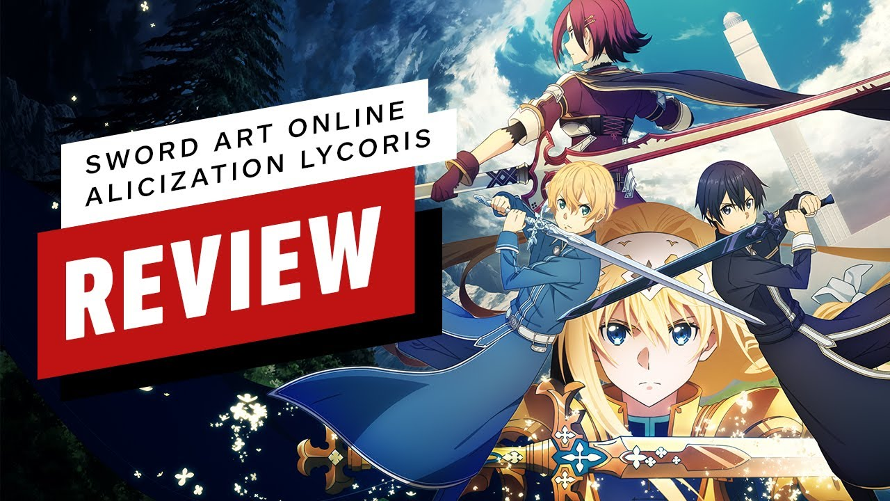 Sword Art Online: Alicization Lycoris Review (Video Game Video Review)
