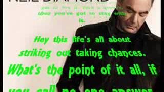 Alone At The Ball by: Neil Diamond - Lyrics