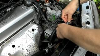 Самопроизвольное включение вентиляторов радиатора на Хонда Шаттл/ Self switch on of radiator fans