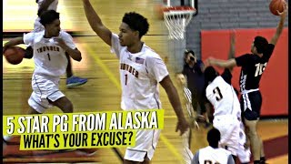 The #1 Point Guard from Alaska Is Nice AF! What's YOUR EXCUSE!? Double OT Thriller!!