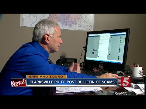 Clarksville Police Department To Post Scams Regularly To War
