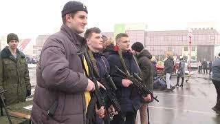 2021-02-23 г. Брест. Выставка вооружения. Новости на Буг-ТВ. #бугтв