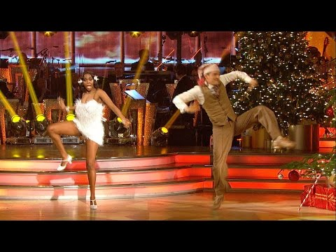 Tom Chambers & Oti Mabuse Charleston to 'Santa Claus Is Comin' To Town' - Christmas Special:  2015