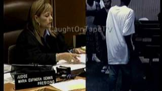 Full Court Punch Caught On Tape