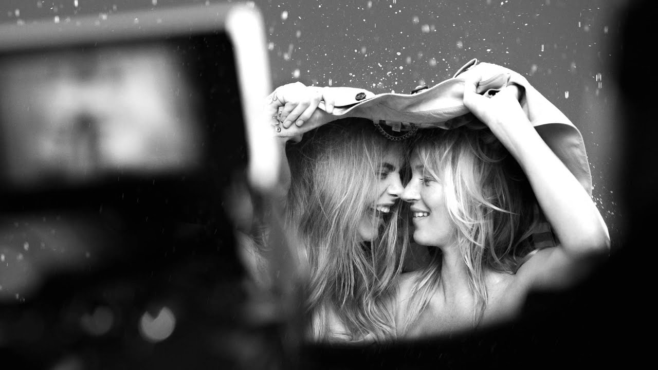 Behind The Scenes With My Burberry Feat Kate Moss And Cara Delevingne