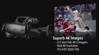 """HDC-4300 2/3"""" sensor 4K Broadcast Camera"""