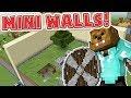 2 NOOBS VS PRO PLAYERS!? - Minecraft MINI WALLS PVP Minigame