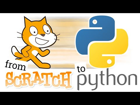 Moving from Scratch to Python - free online learning