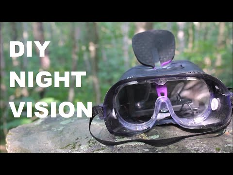 DIY Night Vision Goggles Using Infrared!