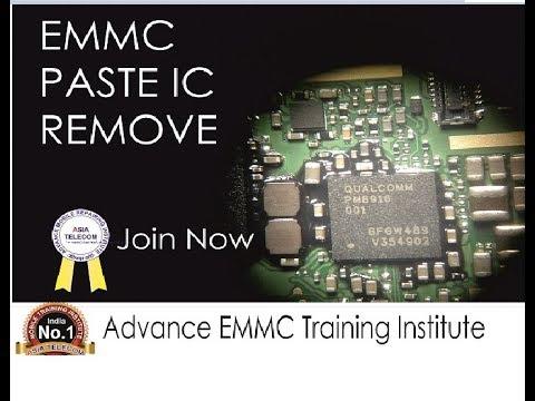 EMMC Black Paste IC Kaise nikalte hai bina IC Pad Print nikale - EMMC Traning Class Call Now