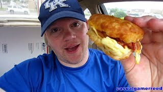 Reed Reviews Hardee's X-tra Bacon Egg And Cheese Biscuit