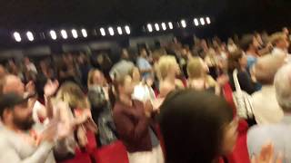 "Standing ovation for ""The Cakemaker"", world premiere, Karlovy Vary Film Festival"