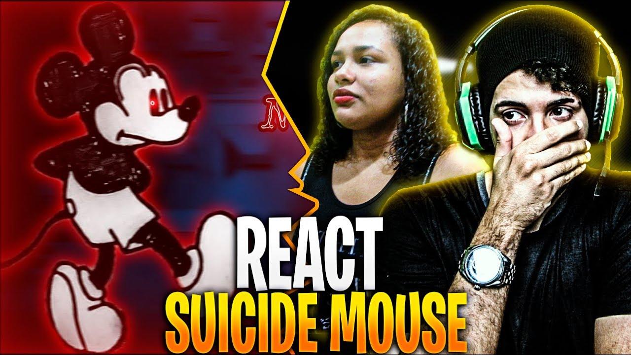 REAGINDO: A Origem de Suicide Mouse - O Vídeo Maldito   VIRALQUEST VQ