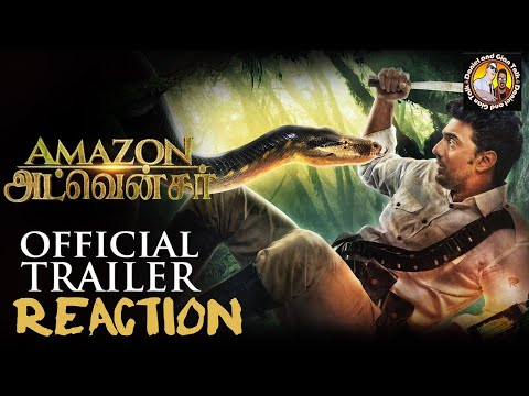 Amazon Obhijaan Official Trailer Reaction...